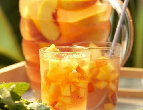 #WineWednesday – White Peach Sangria